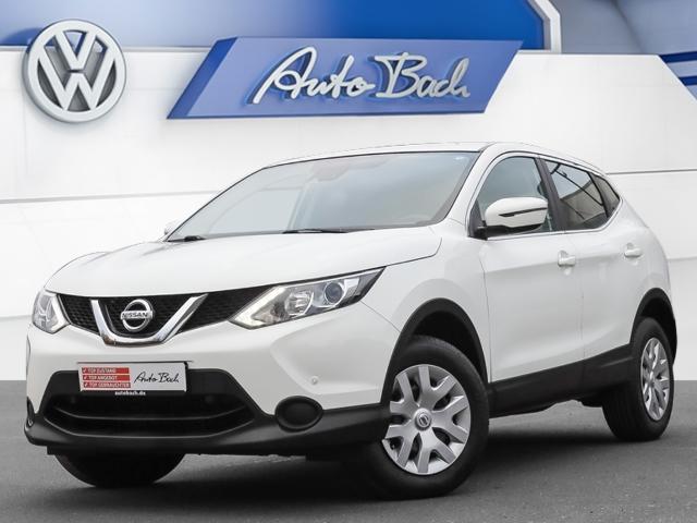 Nissan Qashqai 1.2 DIG-T Visia 4x2 Klima GRA, Jahr 2016, Benzin