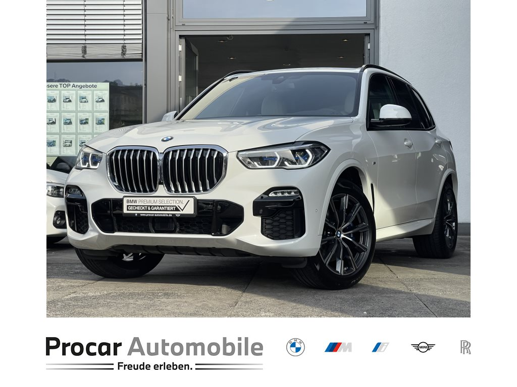 BMW X5 xDrive30d M Sport PA DA AHK Laser Pano Gestikst., Jahr 2020, Hybrid_Diesel