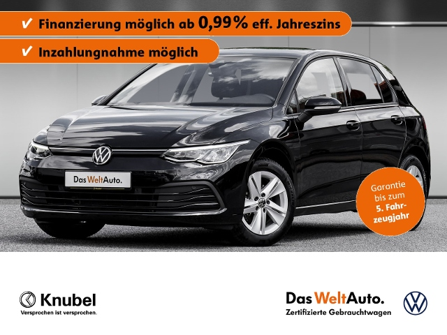 Volkswagen Golf VIII Life 1.5 TSI LED Keyless SHZ LaneAssis, Jahr 2020, Benzin