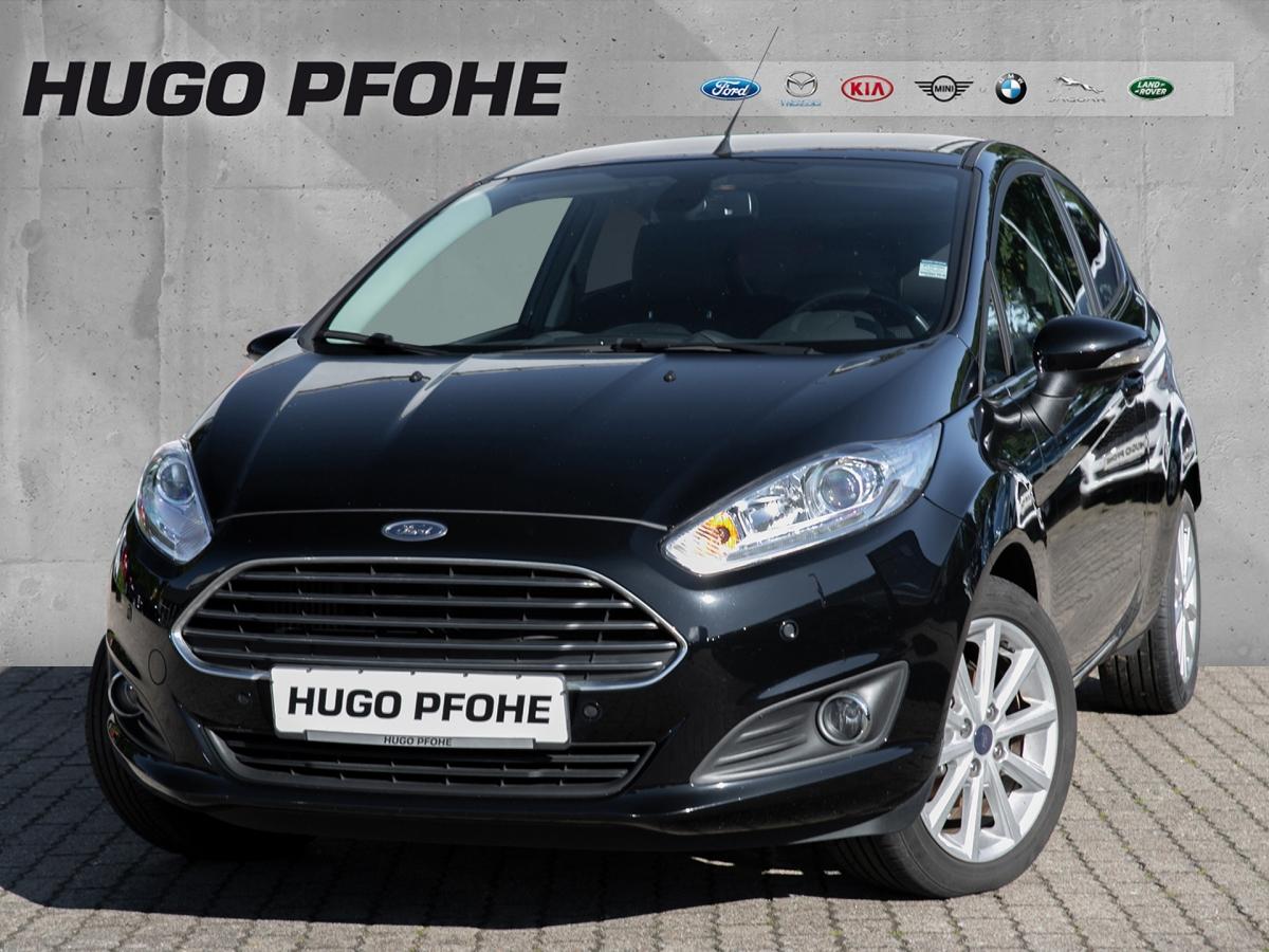 Ford Fiesta Titanium 1.0 EcoBoost 1.Hand / Scheckheft, Jahr 2016, Benzin