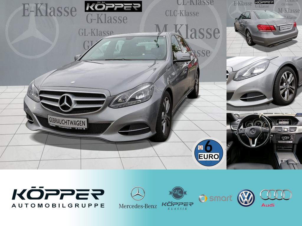 Mercedes-Benz E 200 Limousine EURO 6 LED PTS Avantgarde, Jahr 2013, Benzin
