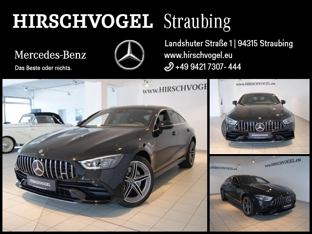 Mercedes-Benz AMG GT 53 4M+ SD+DISTRO+MULTIBEAM+Memory+Com+Kam, Jahr 2020, Benzin