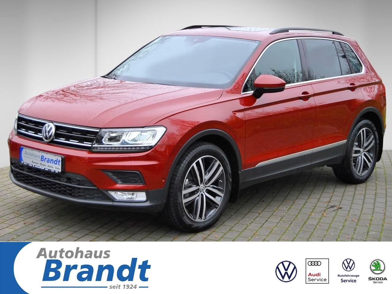 Volkswagen Tiguan 1.4 TSI LED*NAVI*ACC*KAMERA*PANO*SHZ, Jahr 2016, Benzin