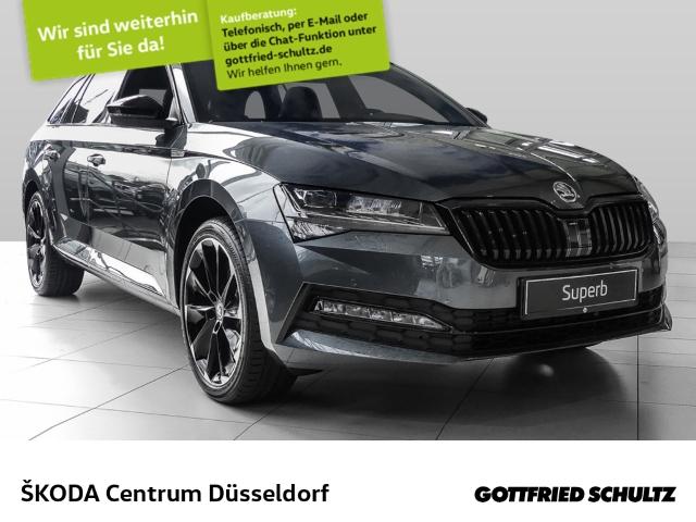 Skoda Superb Combi Sportline, 2.0 TDI DSG 4x4, 140kW, Jahr 2020, Diesel