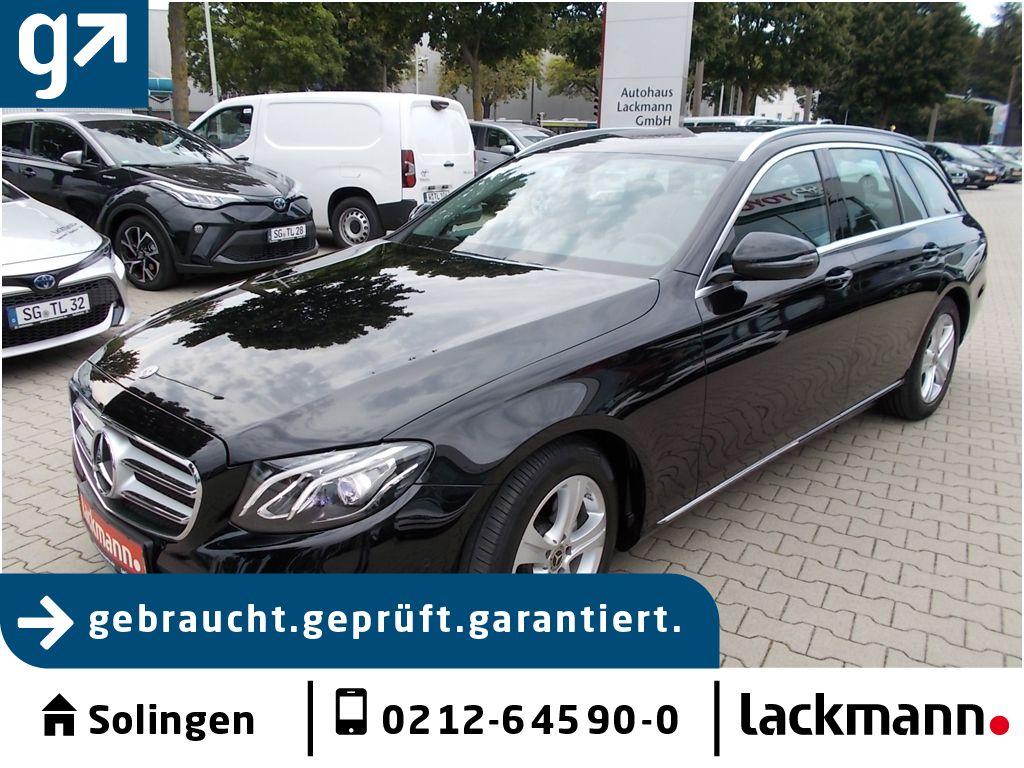 Mercedes-Benz E 220 d T 9G-T. Avantg. Comand LED AHK, Jahr 2018, Diesel
