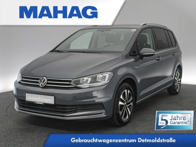 Volkswagen Touran UNITED 2.0 TDI 7-Sitzer Navi Standhz. Kamera DAB+ Bluetooth AppConnect Sprachbed. 6-Gang, Jahr 2020, Diesel
