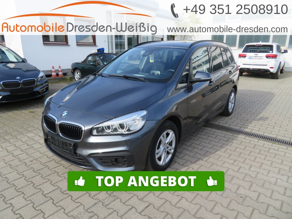 BMW 218 Gran Tourer d xDrive*Navi Plus*HeadUp*HiFi*, Jahr 2017, Diesel