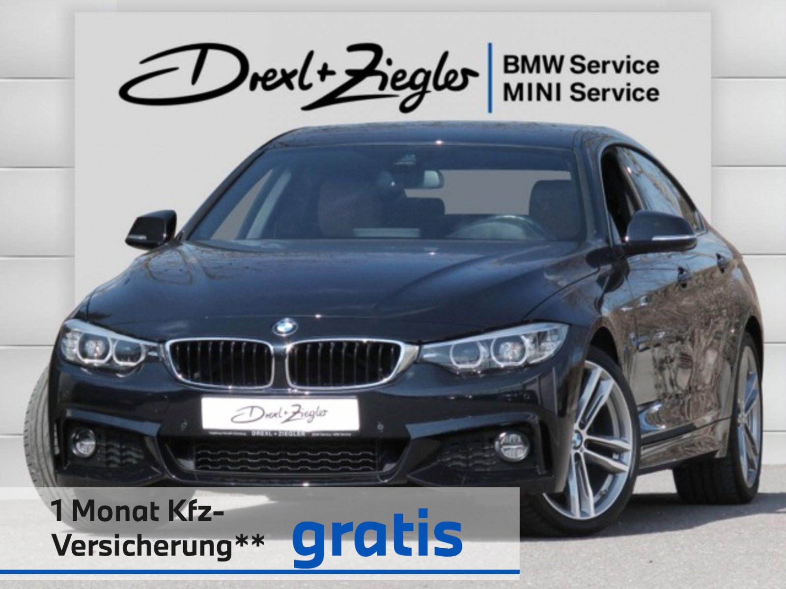 BMW 430i Gran Coupe M Sport Navi HiFi Kamera Alu19, Jahr 2018, Benzin