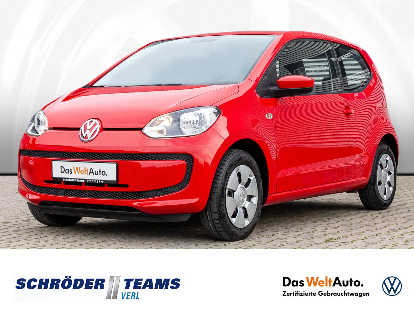 Volkswagen up! 1.0 move up!, Jahr 2015, Benzin