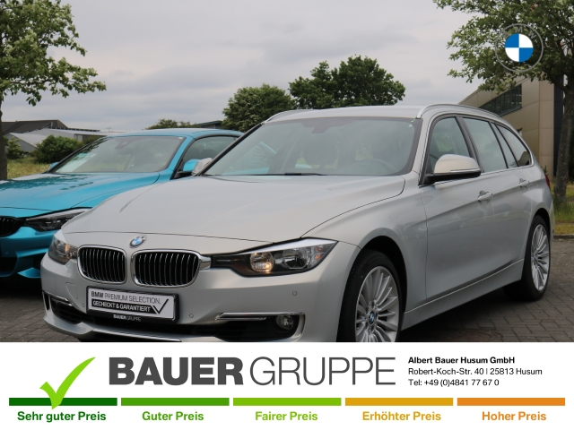 BMW 335 d xDrive Touring Luxury Line Euro 6 Bluetooth Allrad El. Heckklappe PDCv+h Multif.Lenkrad, Jahr 2014, Diesel
