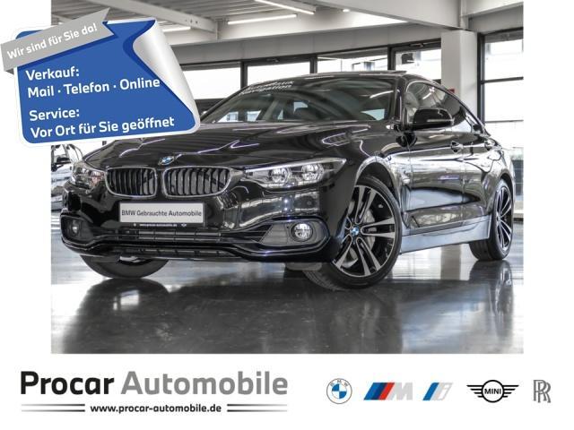 BMW 440i Gran Coupe Sport Line Glasd NavPro h/k HuD, Jahr 2017, Benzin