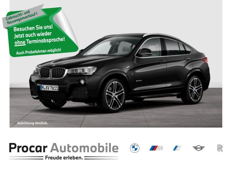 BMW X4 xDrive20d M Sportpaket HiFi Xenon RFK USB, Jahr 2018, Diesel