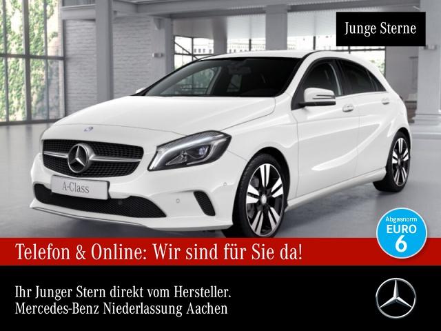 Mercedes-Benz A 160 Urban LED Kamera Navi PTS 7G-DCT Sitzh Temp, Jahr 2017, Benzin