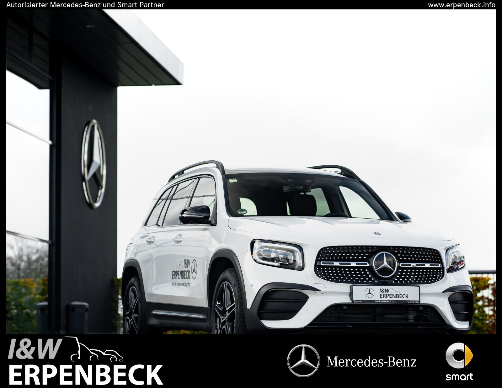 Mercedes-Benz GLB 250 4M AMG Navi Distronic Pano 360° Memory, Jahr 2020, Benzin
