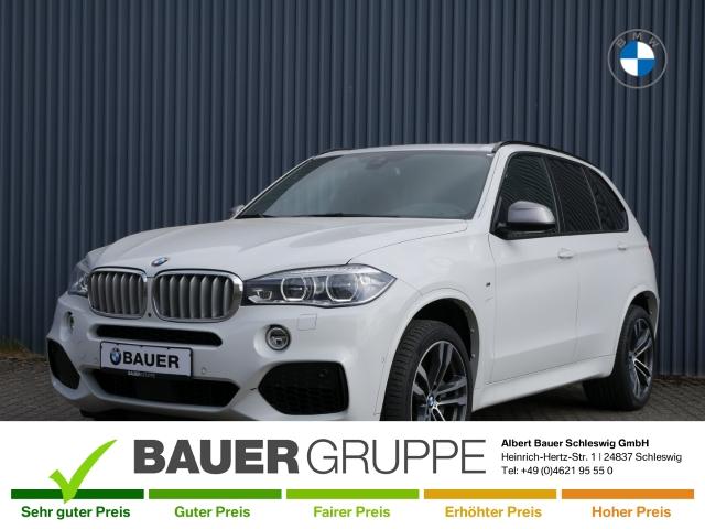 BMW X5 M50 d Leder LED Navi Keyless AD Kurvenlicht e-Sitze HUD ACC Parklenkass. Rückfahrkam., Jahr 2015, Diesel