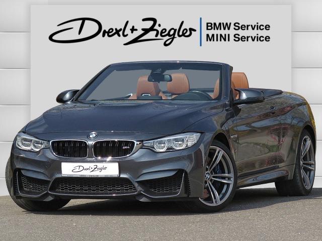 BMW M4 Cabrio DKG Ind.Leder Head-Up DAB HiFi Kamera, Jahr 2017, Benzin