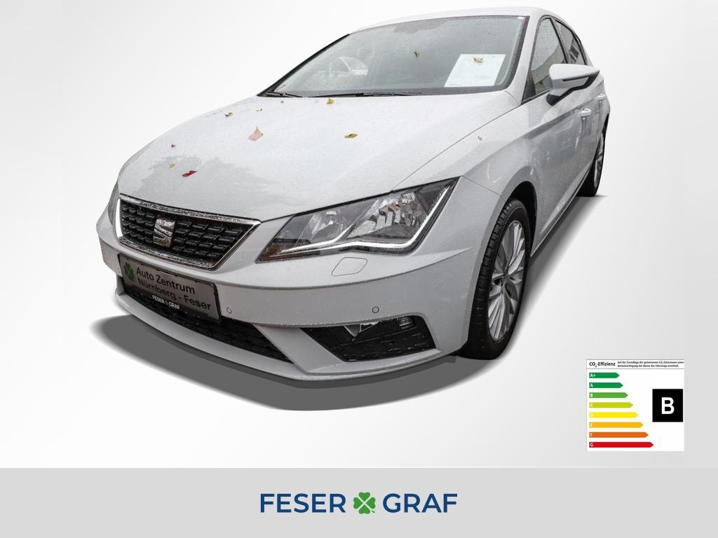 Seat Leon Style 1.5 TSI 96kW Navi EPH vo&hi, Jahr 2020, Benzin