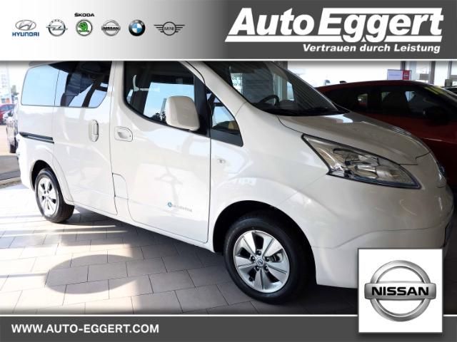Nissan NV200 Evalia e-Evalia Navi Keyless Rückfahrkam. Multif.Lenkrad RDC Klimaautom SHZ Temp, Jahr 2020, Elektro