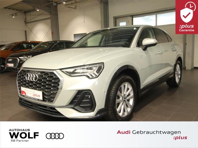 Audi Q3 Sportback 35 TFSI S tronic Navi+ LED AHK DAB, Jahr 2019, Benzin