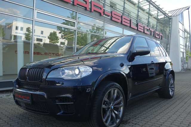 BMW X5 M50d AHK/STDHZG/PANO SOFTCL/REAR DVD/HEAD UP, Jahr 2013, Diesel