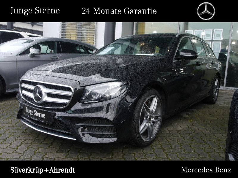 Mercedes-Benz E 450 T 4M AMG Line Distronic Widescreen LED AHK, Jahr 2019, petrol
