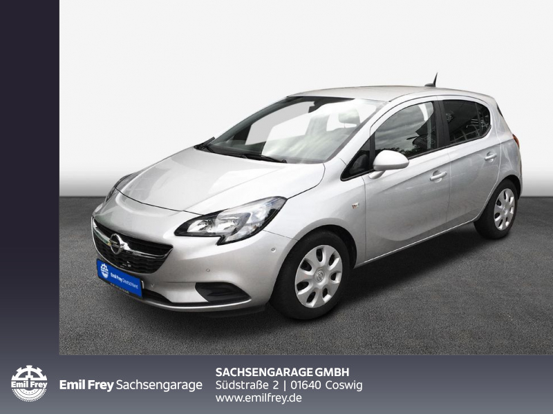 Opel Corsa 1.4 Edition, Klima, Schalter, Jahr 2018, Benzin
