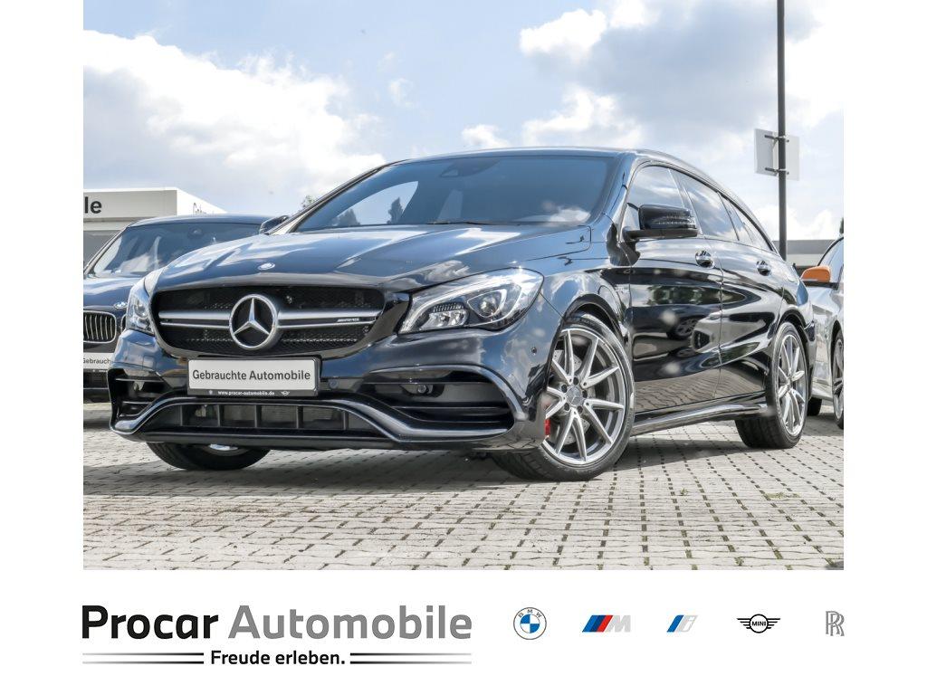Mercedes-Benz CLA 45 AMG Shooting Brake PANO NAVI HARMAN KARDON, Jahr 2017, Benzin