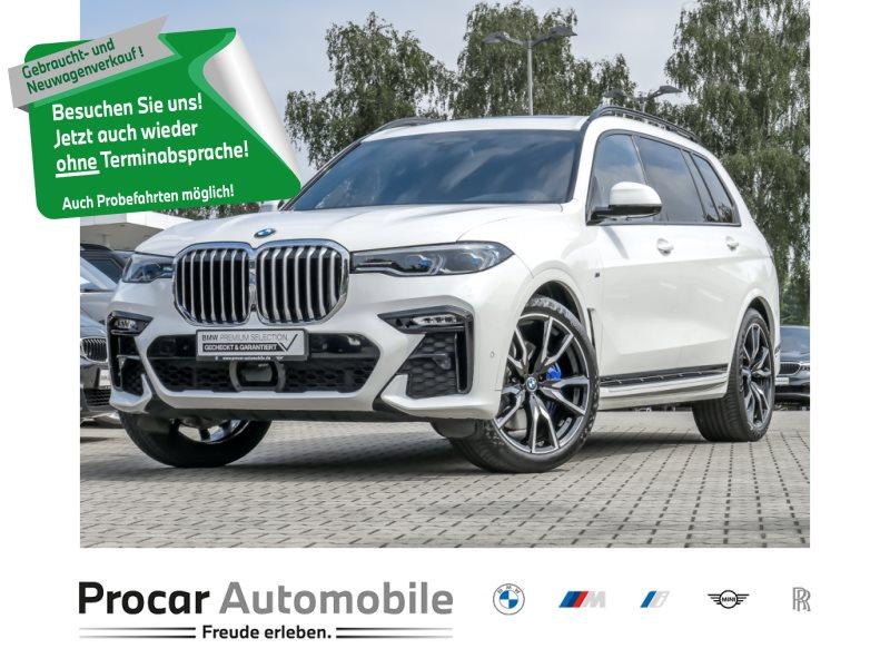 BMW X7 xDrive30d M Sportpaket AHK Pano Sky Lounge Standhzg. B&W Fond Entertainment, Jahr 2019, Diesel