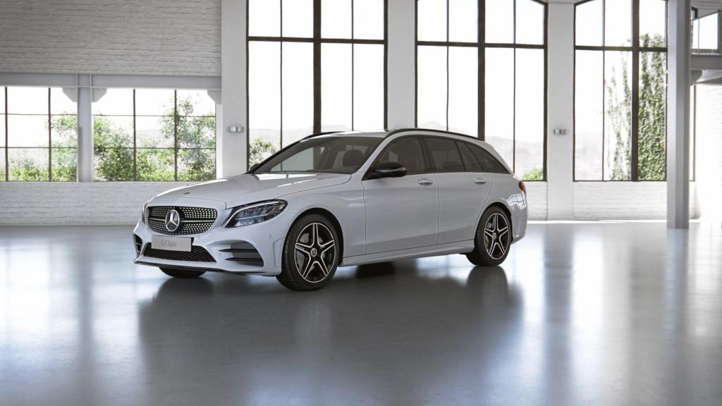 Mercedes-Benz C 220 d T AMG+Spur-P.+Night+LED+AHK+Kamera+Navi, Jahr 2020, Diesel