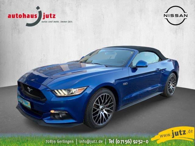 Ford Mustang GT Convertible 5.0 Ti-VCT V8 Leder Xenon Navi Keyless Klimasitze Rückfahrkam., Jahr 2017, Benzin