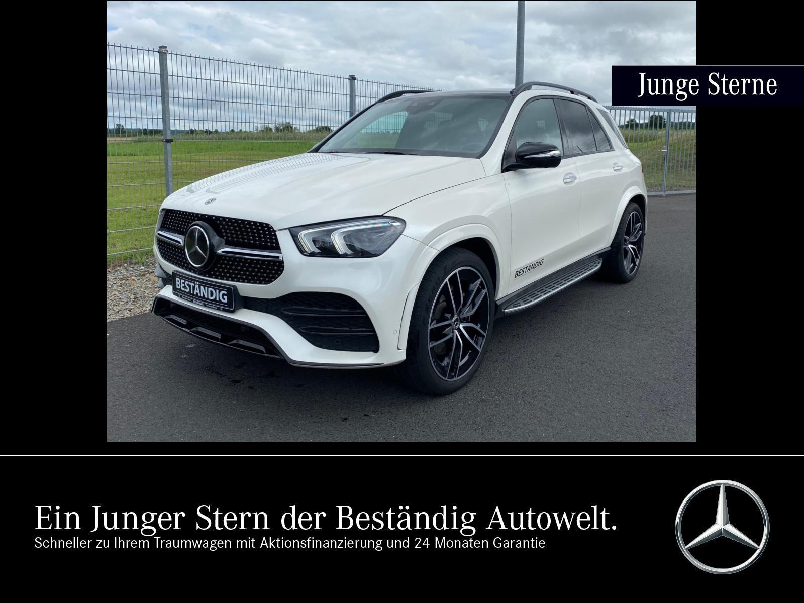 Mercedes-Benz GLE 400 d 4M AMG+WIDE+PANO+AIRMATIC+FAHRASS.+AHK, Jahr 2019, Diesel
