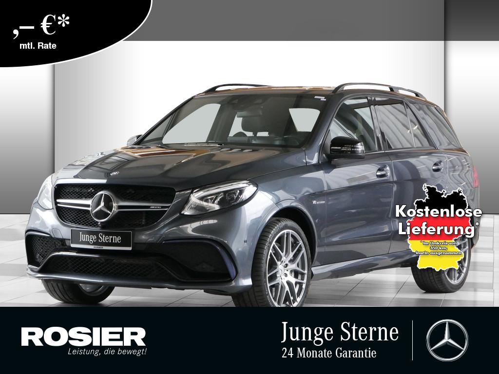 Mercedes-Benz GLE 63 AMG 4M, Jahr 2015, Benzin