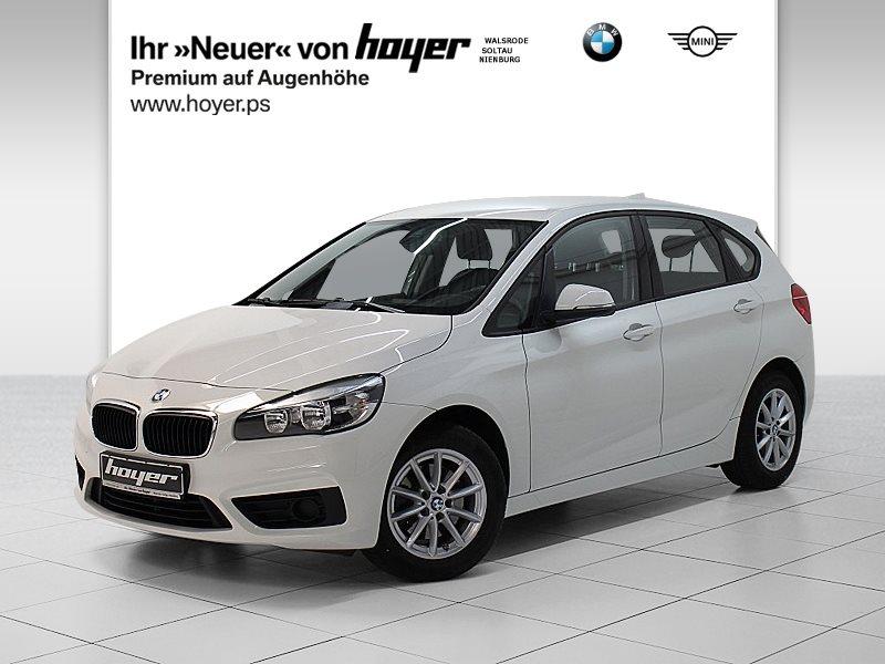 BMW 218i Active Tourer Navi Klimaaut. Shz PDC, Jahr 2016, petrol