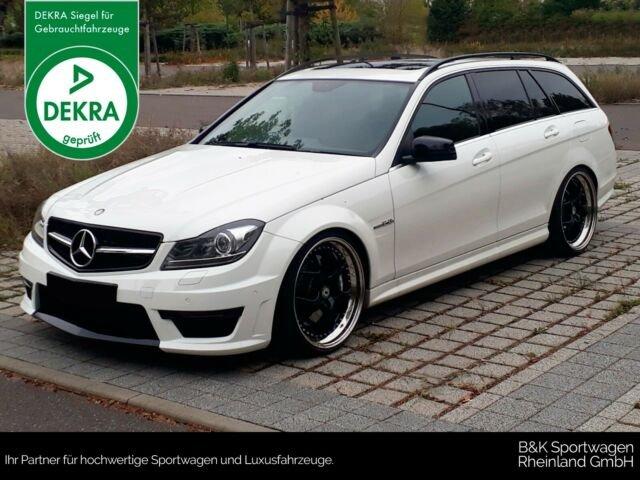 Mercedes-Benz C63 T AMG NAVI/PARKTRONIC/BI-XENON/SCHMIDT/TEMPO, Jahr 2013, petrol