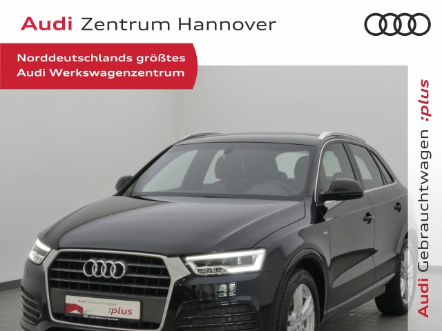 Audi Q3 1.4 TFSI sport, S line, LED, Teilleder, Navi, AHK, Jahr 2018, Benzin