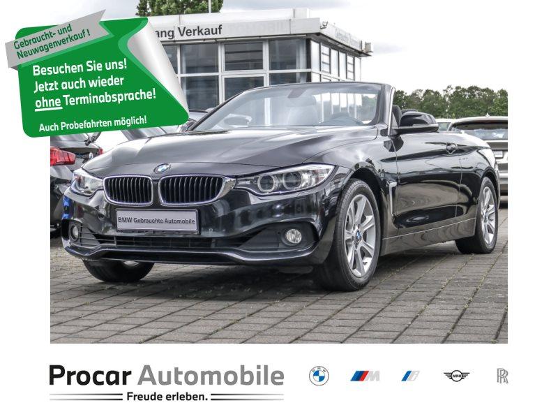 BMW 420i Cabrio Advantage Navi Xenon Leder Klimaaut., Jahr 2016, Benzin