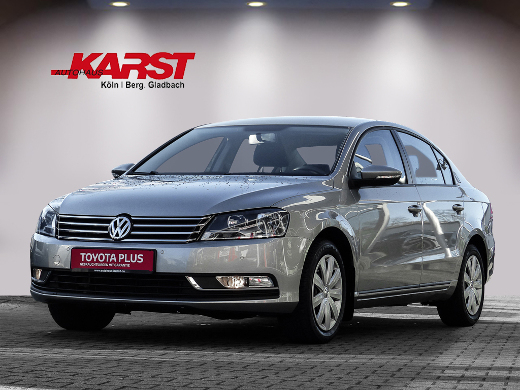 Volkswagen PASSAT 1.4 TRENDLINE Winter-Paket, Klimaauto., Jahr 2014, Benzin