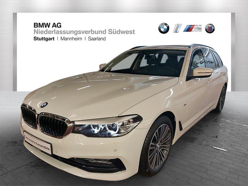 BMW 530i Touring Head-Up RFK Navi Prof. Alarm Shz, Jahr 2017, Benzin