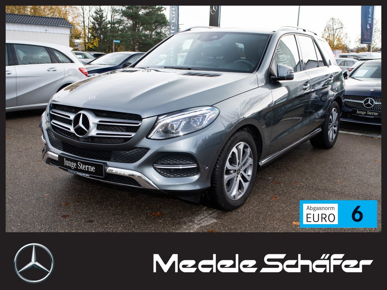 Mercedes-Benz GLE 500 4M ActiveCurve Com LED Sitzklima Kam SHD, Jahr 2017, petrol