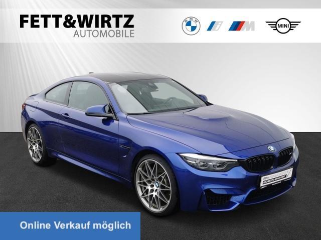BMW M4 Coupe Competition DKG Navi HUD LED Leder HiFi, Jahr 2020, Benzin