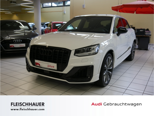 Audi SQ2 2.0 TFSI quattro NAVI Ext. Paket LED Technology, Jahr 2019, petrol