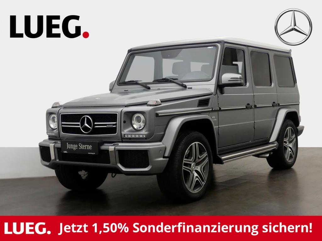 Mercedes-Benz G 63 AMG DesignoExklusiv+H&K+Kam Harman, Jahr 2017, Benzin