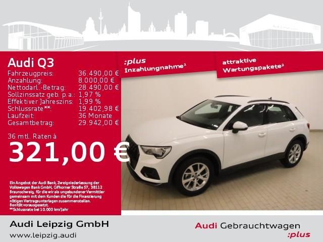 Audi Q3 35 TDI advanced *S tronic*DAB*phone box*, Jahr 2020, Diesel