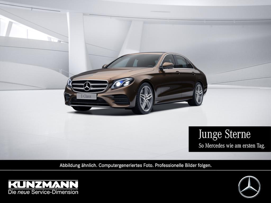 Mercedes-Benz E 300 Limousine AMG Navi LED Schiebedach 360°K, Jahr 2018, Benzin