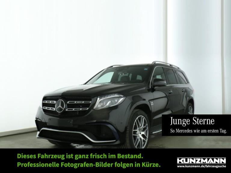 Mercedes-Benz GLS 63 AMG 4M Comand AHK Memory Panorama LED, Jahr 2018, Benzin