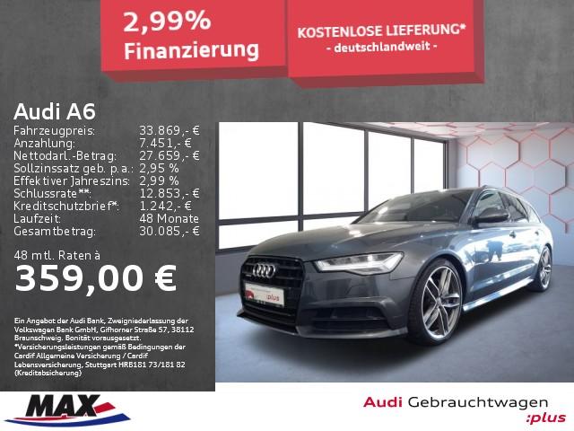 Audi A6 Avant 3.0 TDI QUATTRO S LINE LED+NAVI+KAMERA+, Jahr 2017, Diesel