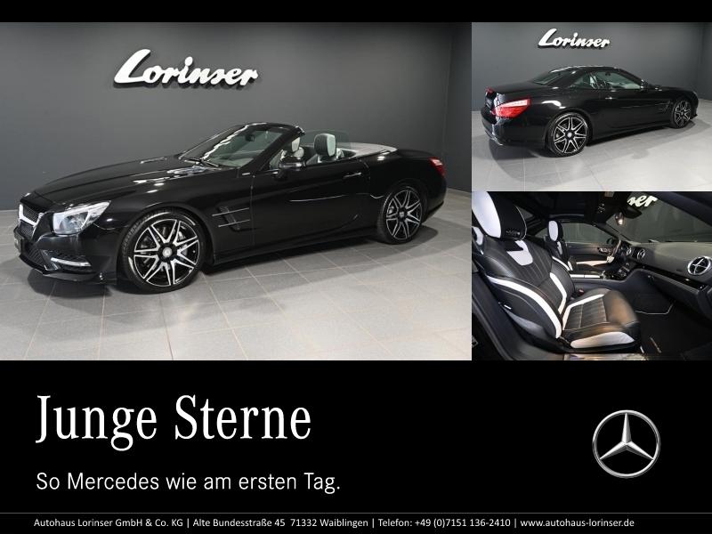 Mercedes-Benz SL 400 AMG/2 LOOK EDITION/DISTRO/SITZKLIMA/SOUND, Jahr 2015, Benzin