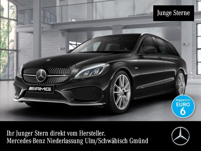 Mercedes-Benz C 450 AMG T 4M 360° Distr+ COMAND ILS LED HUD PTS, Jahr 2015, Benzin