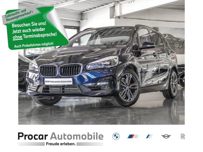 BMW 218i Active Tourer Aut SportL 17 PDC Navi Hifi Parkass, Jahr 2018, Benzin