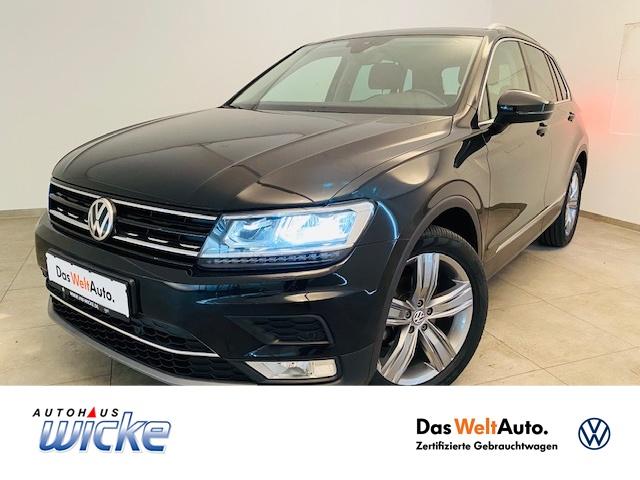 Volkswagen Tiguan 2.0 TDI Highline ACC LED Navi SHZ EU6 AHK, Jahr 2017, Diesel